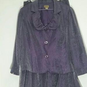Size 22W Mermaid skirt and Blazer Suit